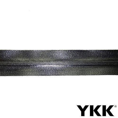 YKK Uretek coil zipper, Black
