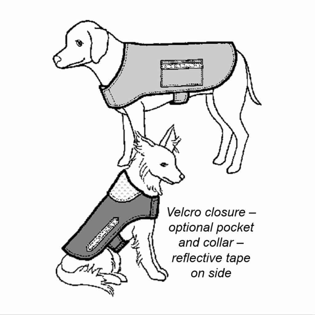 Warm & Dry Dog Coat Pattern