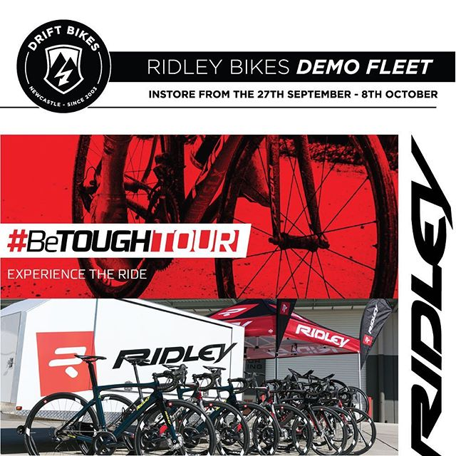Ridley Demo Fleet In-store from the 27th of September!