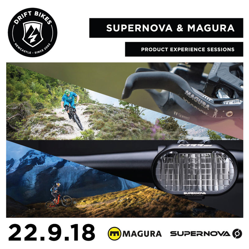Supernova Lights & Magura Brakes product experience sessions