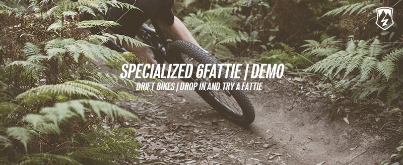 Specialized 6fattie demo bikes