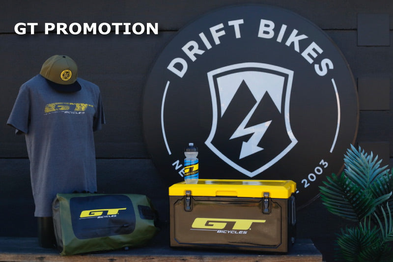 10% OFF GT Bicycles dual suspension MTBs and FREE SWAG!