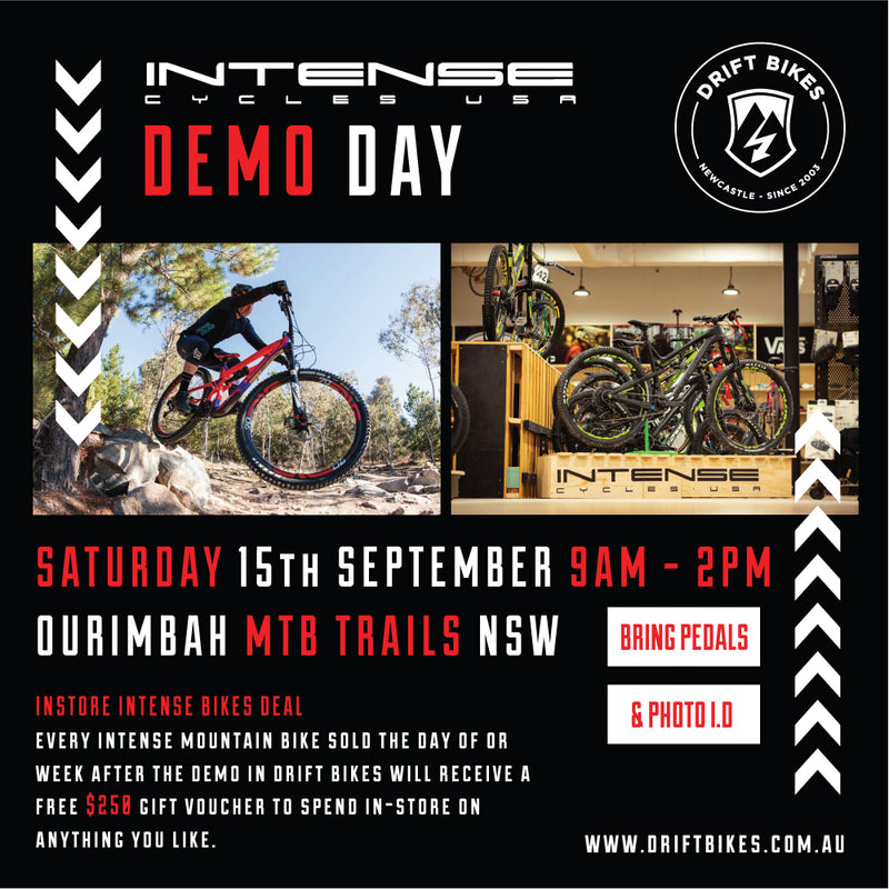 Intense Cycles Demo Day - September 15th 2018 - Ourimbah MTB Trails