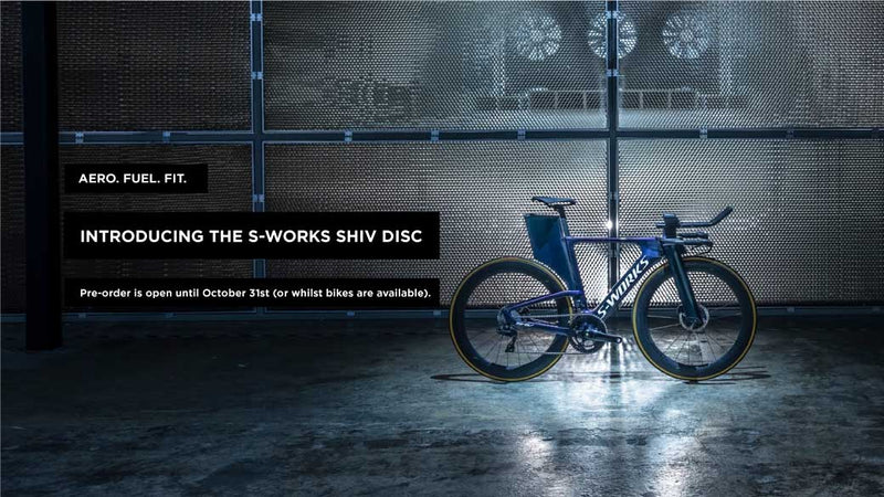 ALL NEW SPECIALIZED <br>S-WORKS SHIV DISC<br> PRE-ORDER NOW!