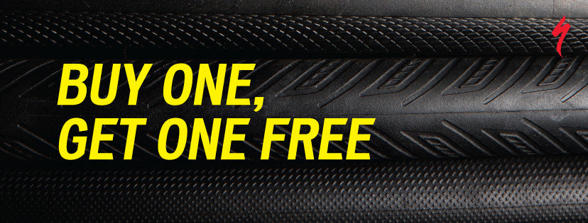 2 for 1 Specialized Road Tyre Offer