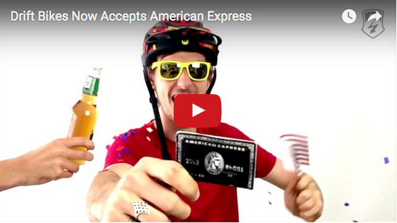 We now accept American Express in store
