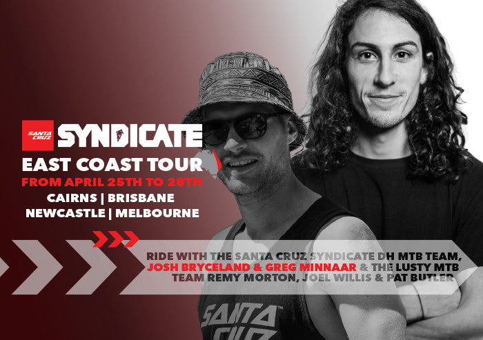 Santa Cruz Syndicate East Coast Tour