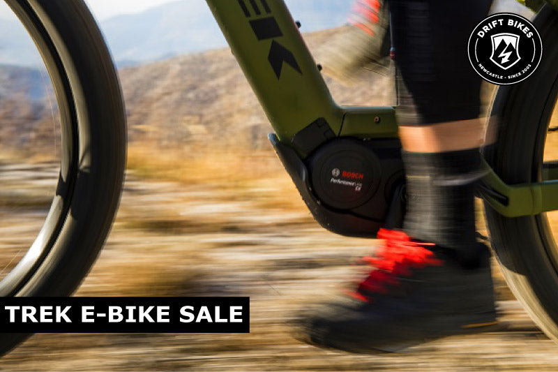 TREK 'e-bikes are for everyone' Sale
