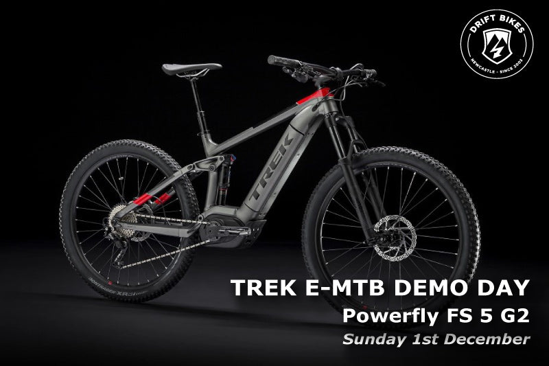 Trek e-MTB Demo Day - Sunday 1st December 2019
