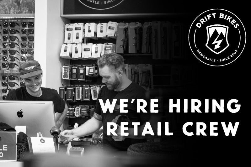 WE'RE HIRING! Join our RETAIL team