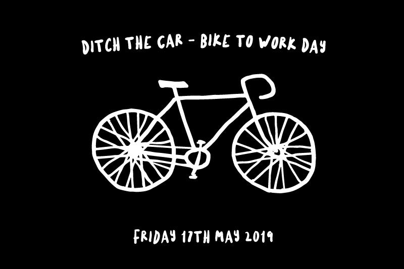 Ditch the car - Bike to work day this Friday!