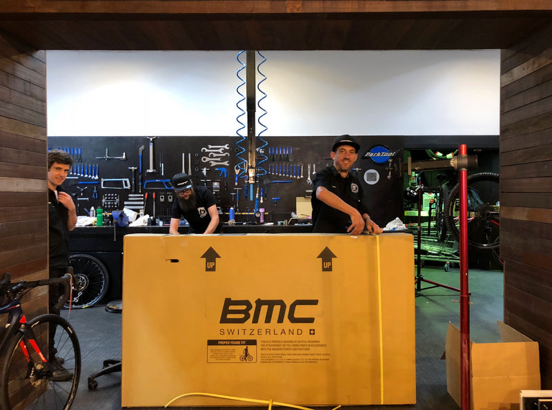 BMC have arrived in time for Grand Opening
