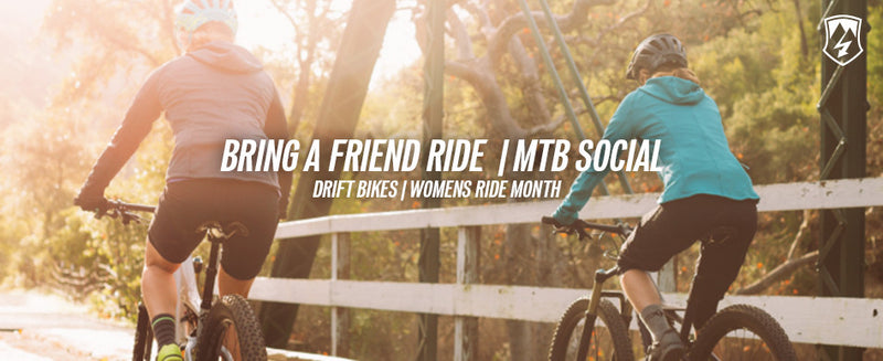 Bring  a Friend Ride - Womens Ride Month