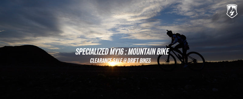 SPECIALIZED MY16 Clearance Sale