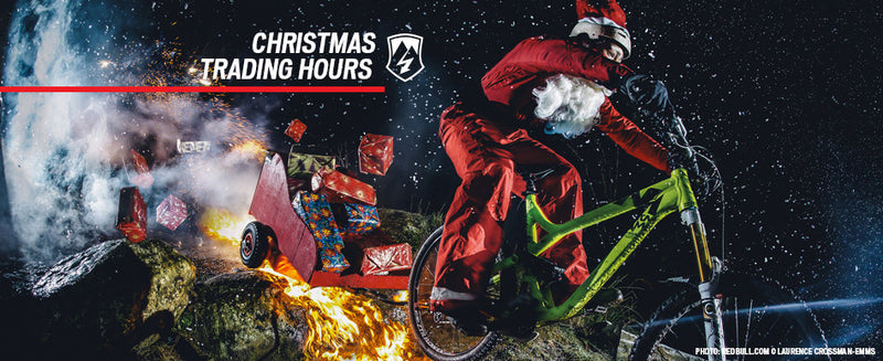 Trading Hours Xmas - New Years 2015-16