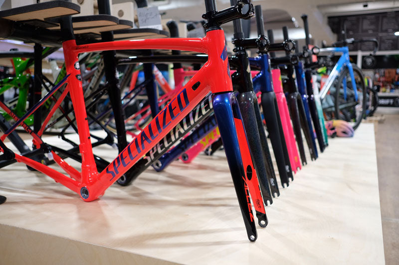 The first all-new Allez Sprint Disc Frameset has landed!