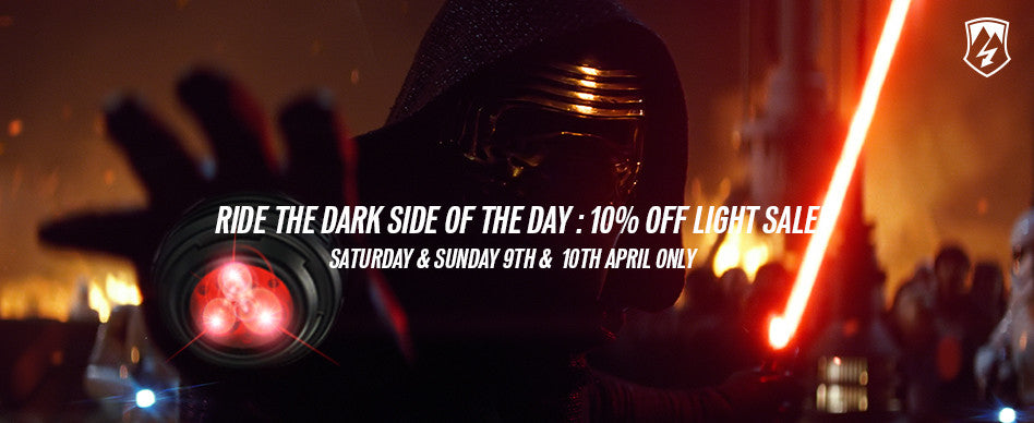Ride the Dark Side of the Day - Light Sale