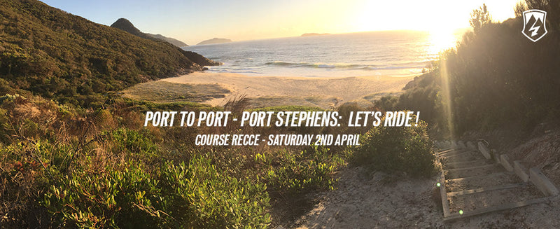 Port to Port - Port Stephens Stage One Recce Ride