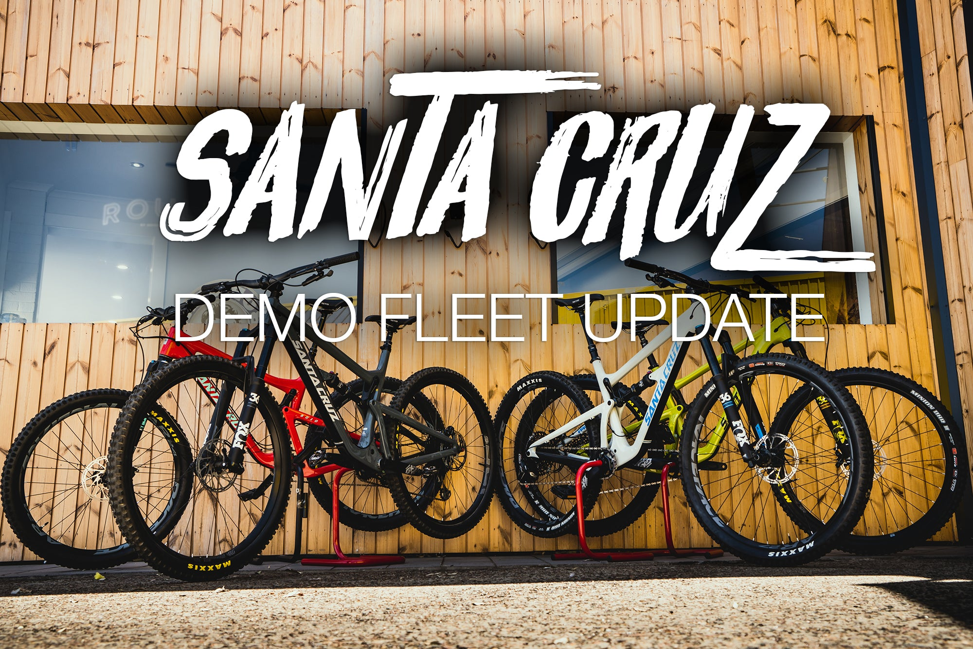 2018 Santa Cruz Demo Fleet Now in store