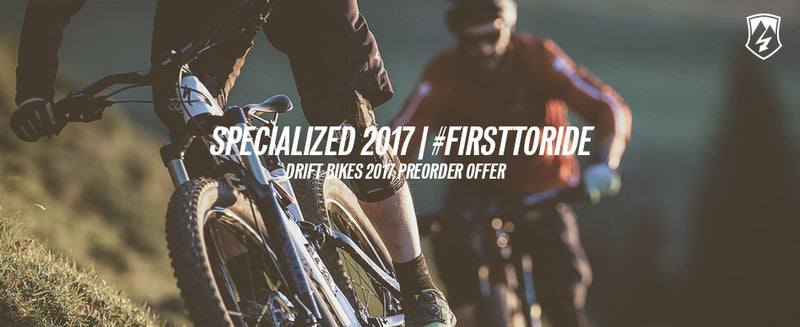 #firsttoride 2017 Specialized Offer