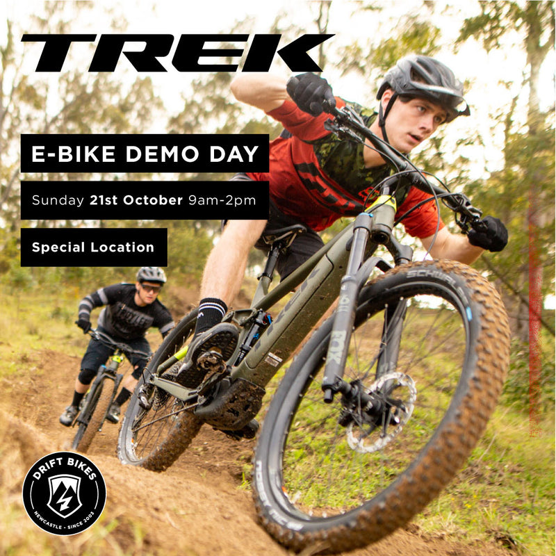 TREK E-Bike Demo Day - Here's a demo day with a difference!
