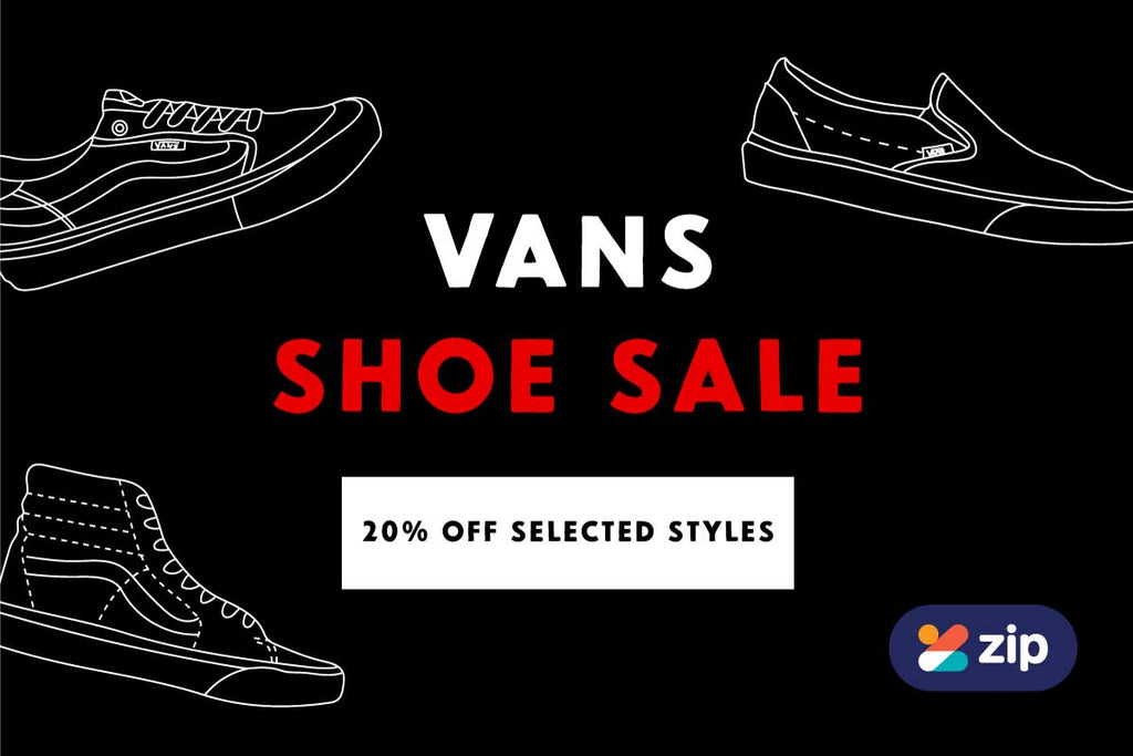 Vans Shoe Sale Now On!