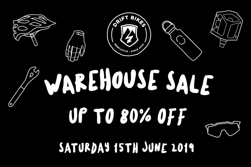 Drift Bikes Warehouse SALE - This Saturday 15th June!