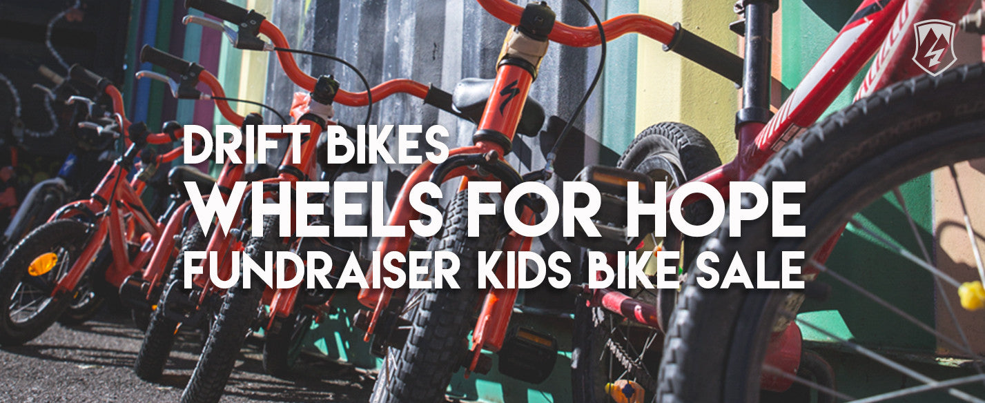 Wheels For Hope Fundraiser Kids Bike Sale