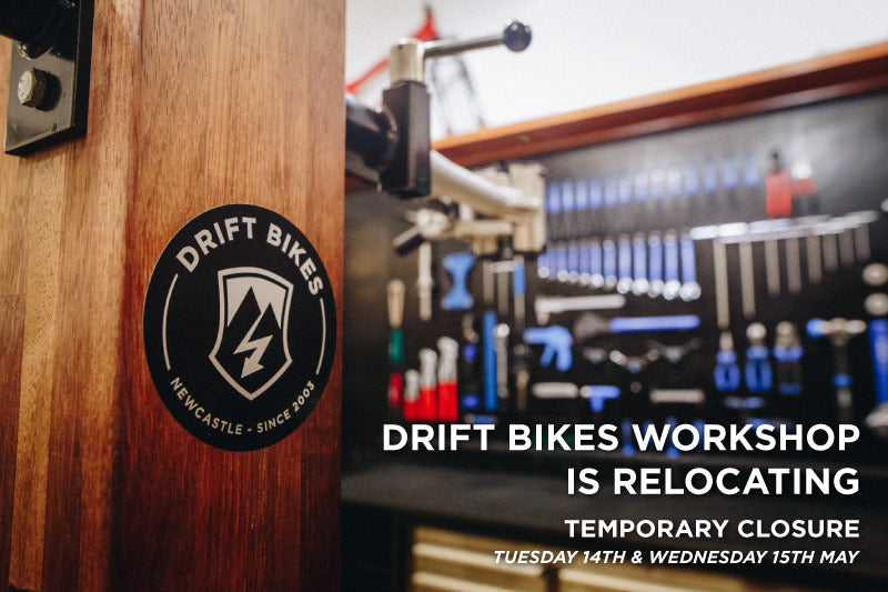 Drift Bikes workshop is relocating