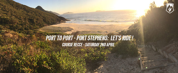 port to port port stephens stage one course recce ride