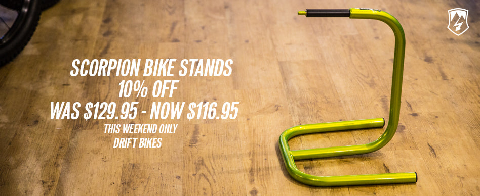 scorpion bike stand best price