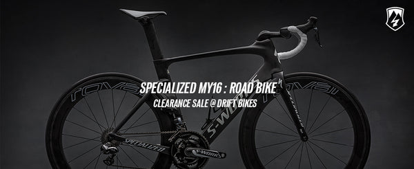 Specialzied MY16 Road Bike Sale – Drift Bikes
