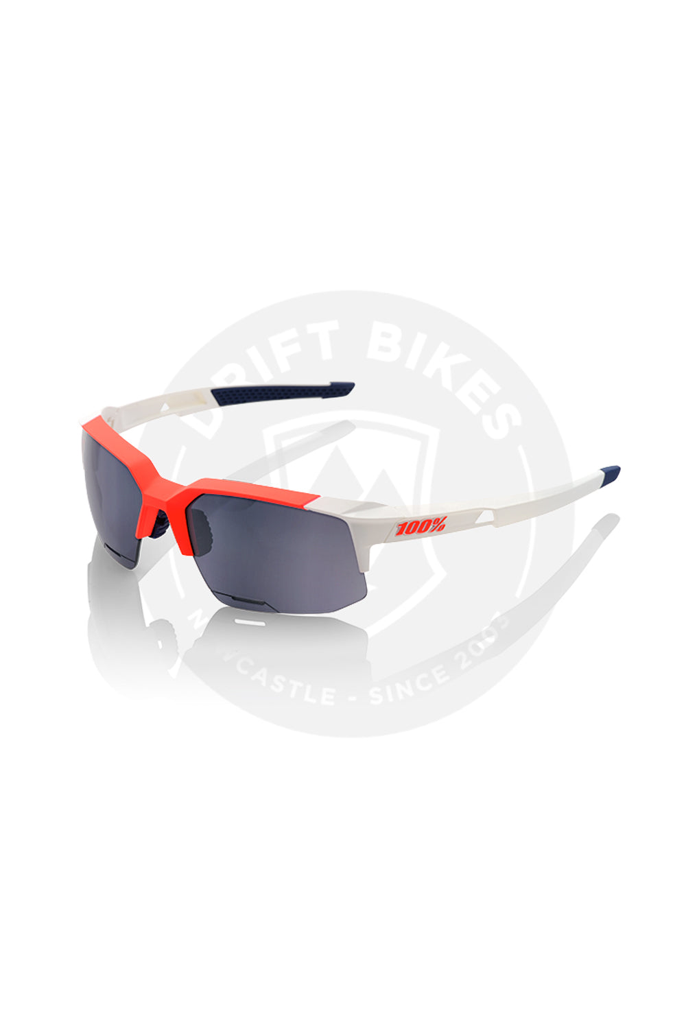100%. SPEEDCOUPE PERFORMANCE SUNGLASSES - LONG LENS - GAMMA RAY, MIRROR LENS