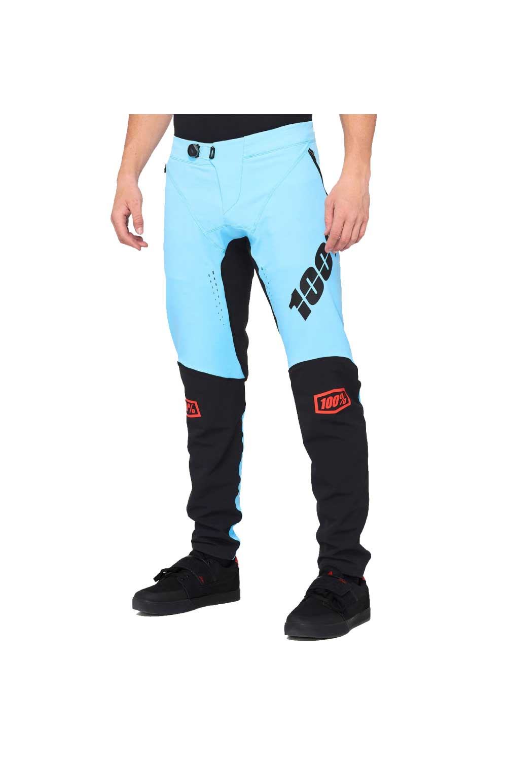 100% 2020 R-CORE X Pants Light Blue/Black