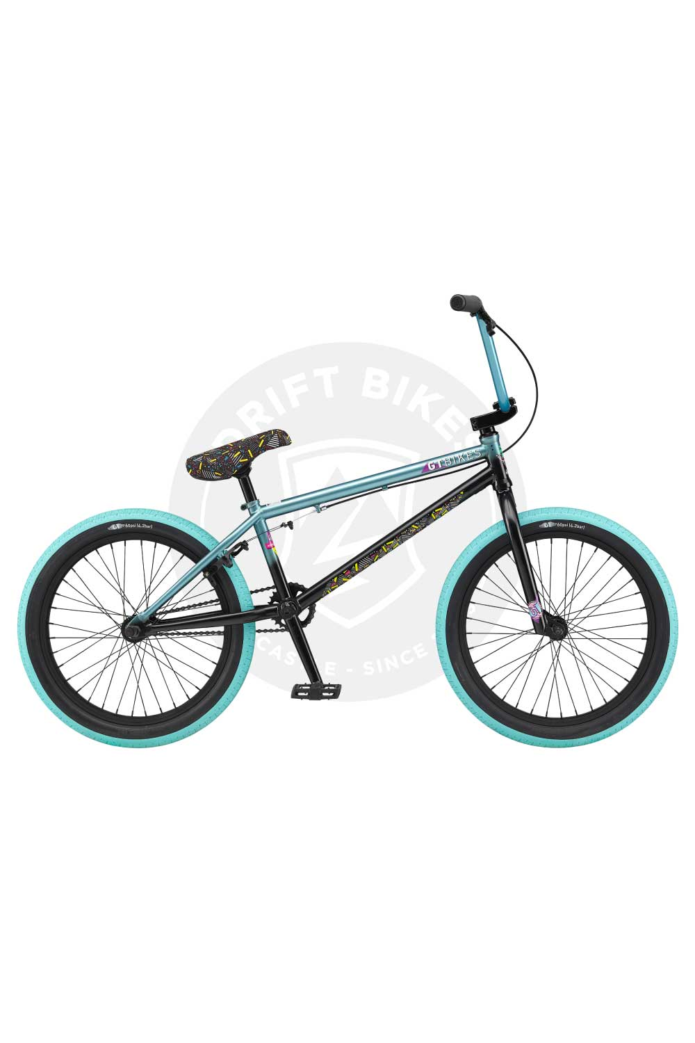 "GT Bicycles 2021 Team Mercado 21"" TT BMX Trans Mystic Mint"
