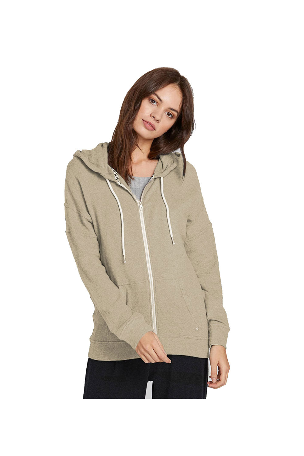 VOLCOM LIL (Lived In Lounge) Women's Zip Fleece Jumper