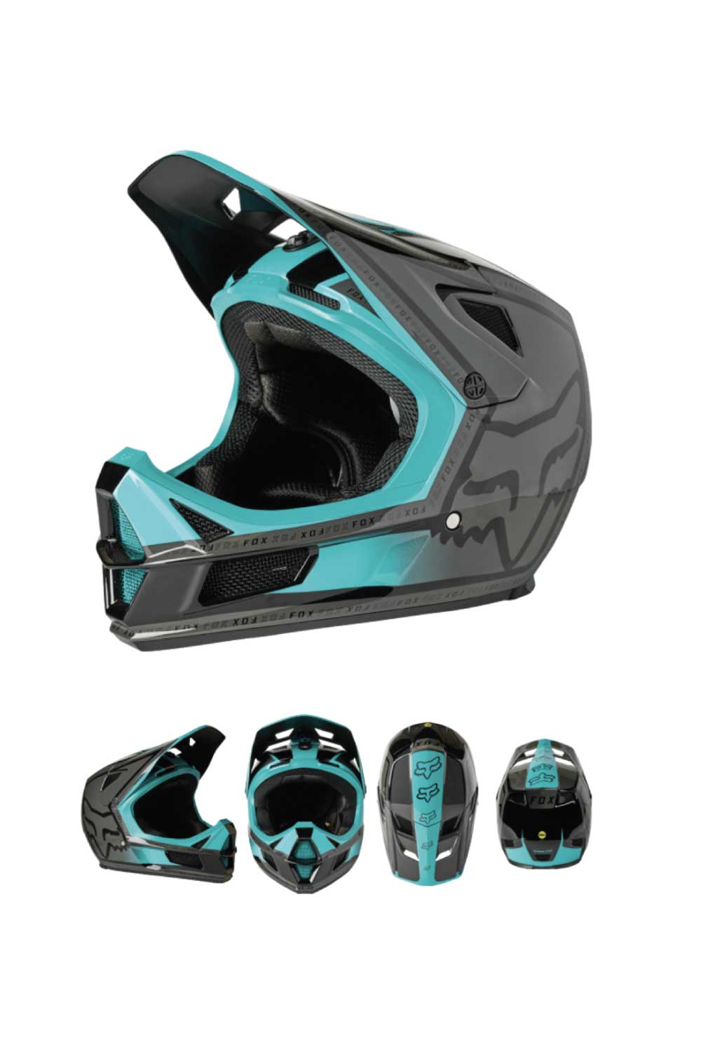 FOX Racing 2021 Rampage Comp MTB MIPS Bike Helmet