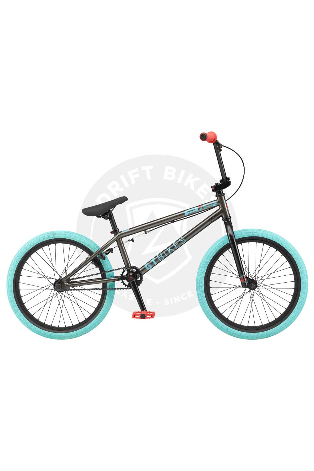 "GT Bicycles 2021 AIR 20"" BMX TT Gloss Trans Black"