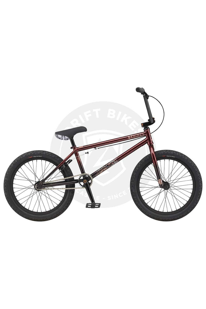 "GT Bicycles 2021 Team SIGNATURE 21"" TT BMX Gloss Red Flake"