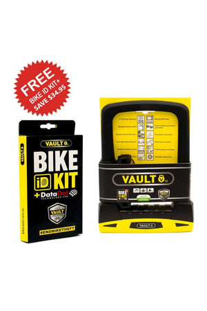 Vault D Lock with Bike ID Kit+