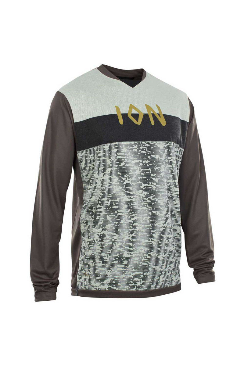 ION 2020 Scrub AMP Jersey Long Sleeve Men's MTB Bike Jersey