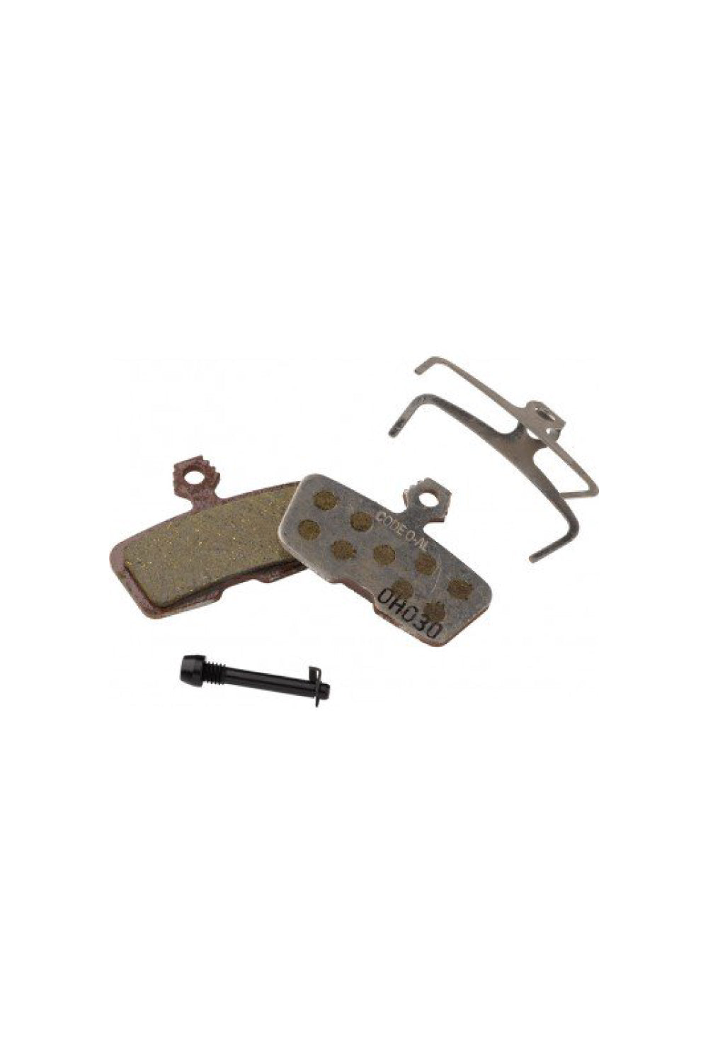 SRAM BRAKE DISC PAD GUIDE ORGANIC/STAINLESS - ALLOY BACKED