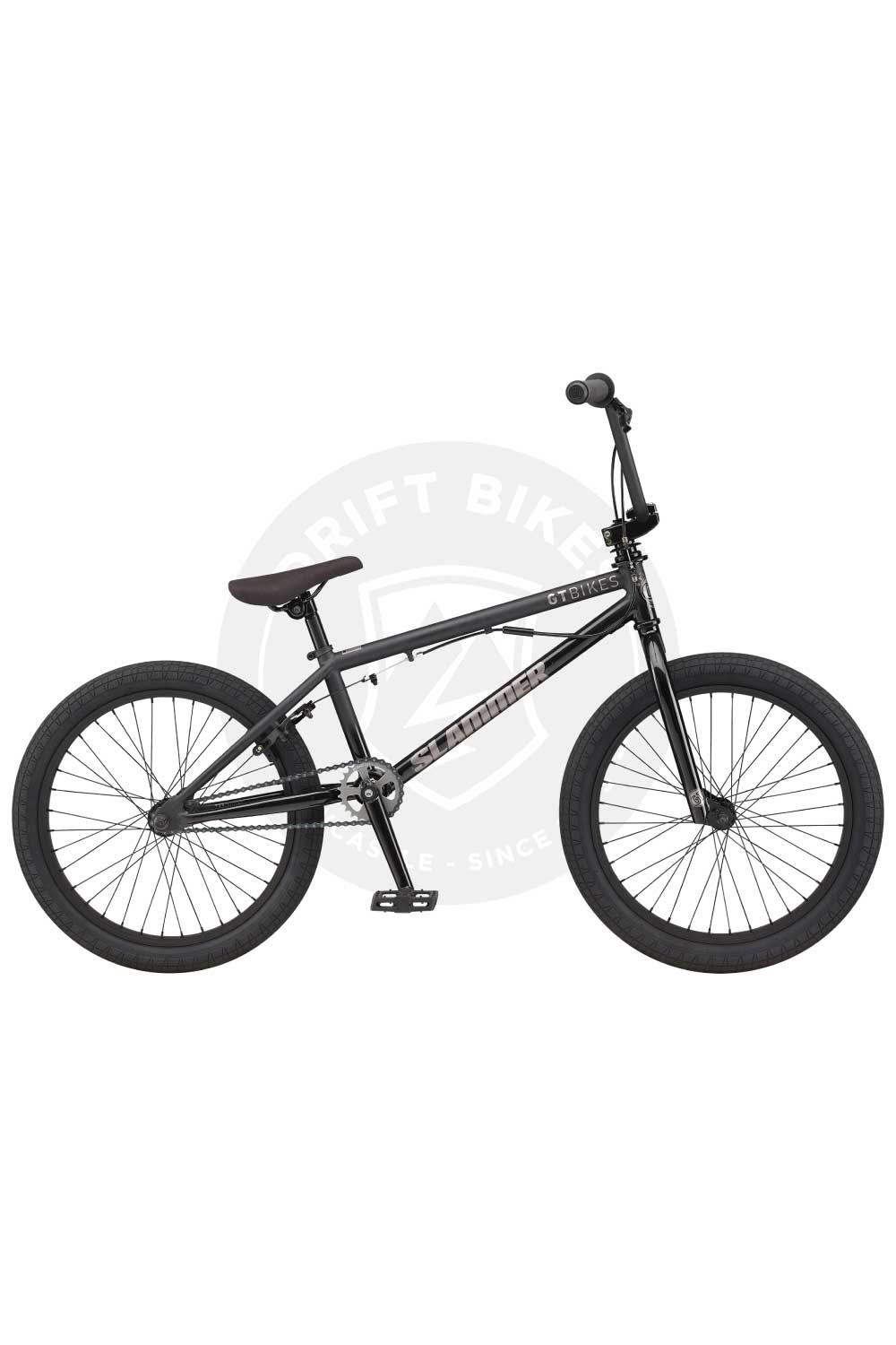 "GT Bicycles 2021 Slammer 20"" BMX TT Matte Washed Black"