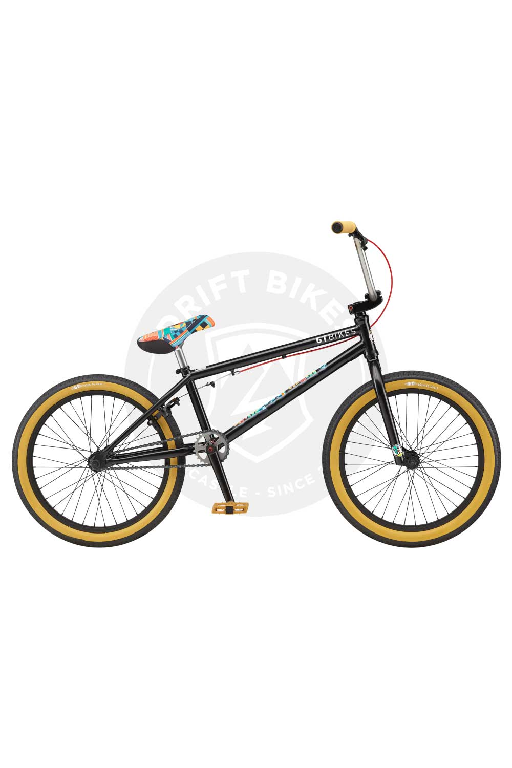 "GT Bicycles 2021 Performer 21"" BMX TT Satin Black"