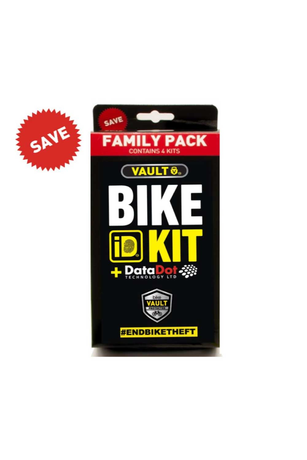 Vault Bike ID KIT+ Family Pack