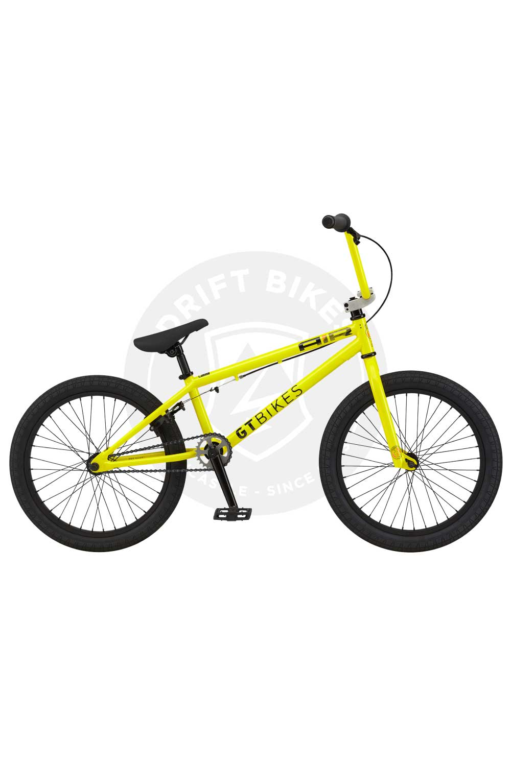 "GT Bicycles 2021 AIR 20"" BMX TT Gloss GT Yellow"