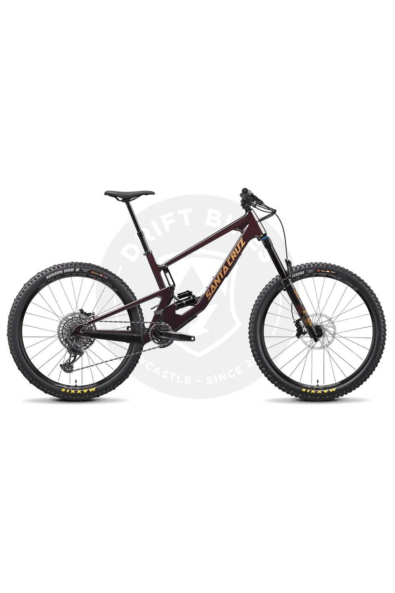 2021 Santa Cruz Nomad 5.0 C S GX - Eagle Fox 38 Perf 170 RS Air