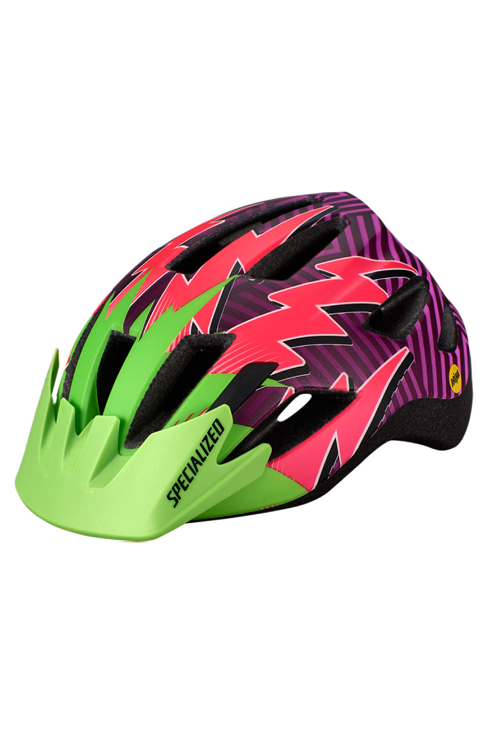 MONSTER GREEN / ACID PINK LIGHTNING