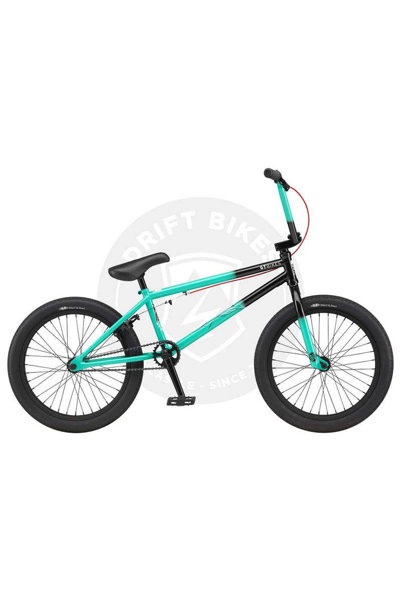 "GT Bicycles 2021 Team Conway Comp 21.25"" TT BMX Gloss Pitch Green"