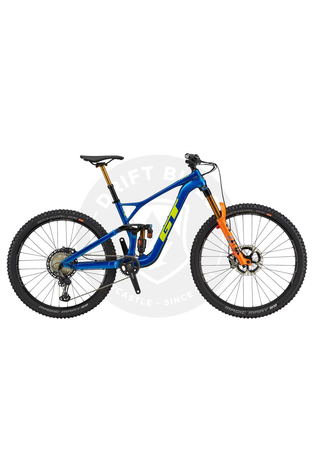 "GT Bicycles 2021 Force Carbon Team 29/27.5"" Mountain Bike"